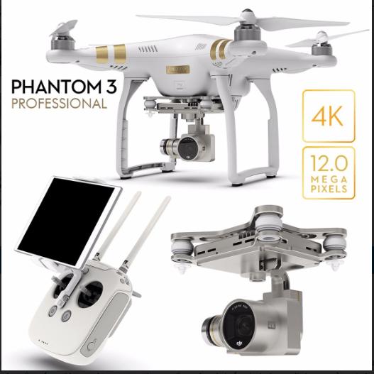 Chuyên bán Phantom 3 Professional tại Hà Nội