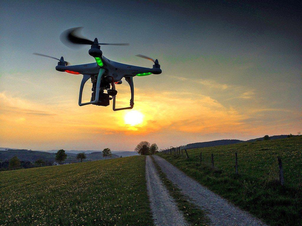 drone trong truyền thông
