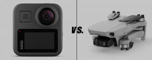 GoPro vs Drone: Nên chọn thiết bị nào?