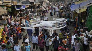 Ấn Độ gia tăng thử nghiệm drone vận chuyển vắc xin COVID-19